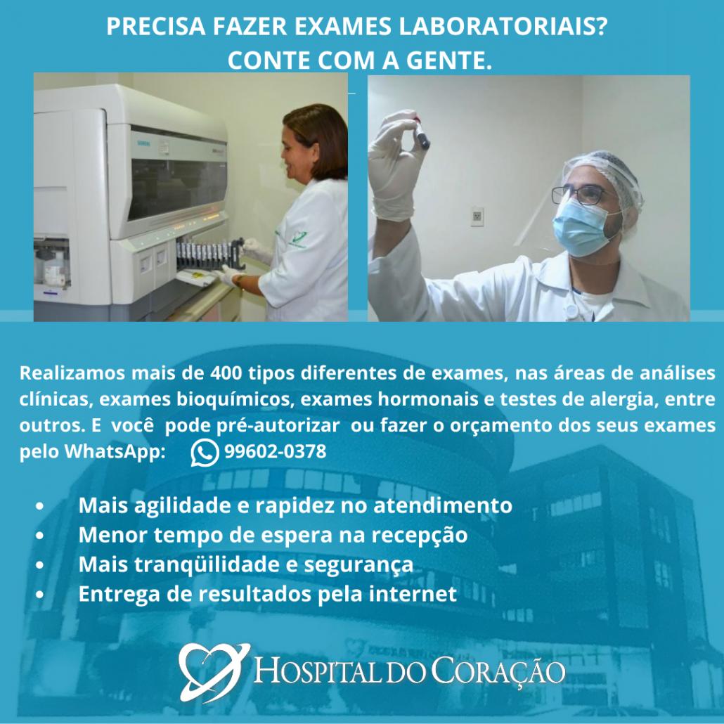 LABORATÓRIO DO HOSPITAL DO CORAÇÃO